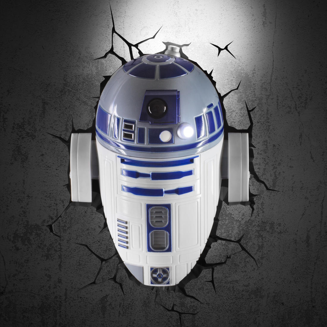 star wars wall lamp r2d2 getdigital. Black Bedroom Furniture Sets. Home Design Ideas
