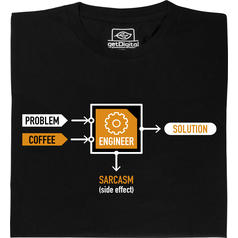 Problem-Engineer-Solution (Problème-Ingénieur-Solution) T-Shirt
