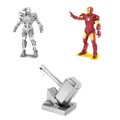 Kits maquettes Avengers Metal Earth 3D