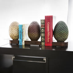 Game of Thrones Dragon Egg Bookends
