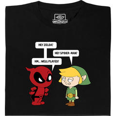 Zelda rencontre Spiderman T-Shirt