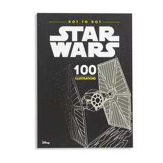 Star Wars Dot to Dot Colouring Book