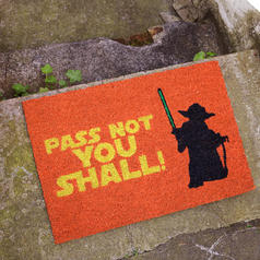 Doormat Pass Not You Shall