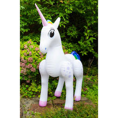 Licorne gonflable grandeur nature