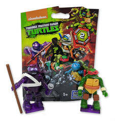 Teenage Mutant Ninja Turtles Mega Bloks Figures Series 2