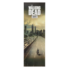 The Walking Dead Door Poster