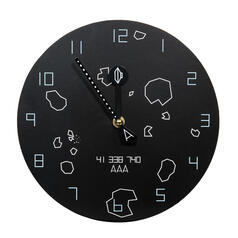 Asteroids Wall Clock