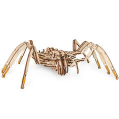 Kit de construction Kinetic Spider (araignée cinétique) d'Eco Wood Art