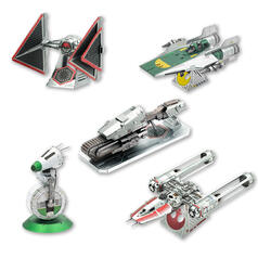Kits de construction Metal Earth 3D de Star Wars épisode 9