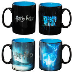 Mug thermo-réactif Patronus d'Harry Potter