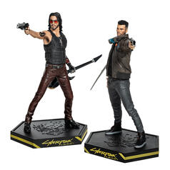 Figurines de collection Dark Horse de Cyberpunk 2077