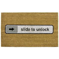 Paillasson Slide to unlock