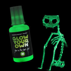 Glow Your Own Luminous Paint