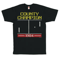 T-shirt Pong County Champion