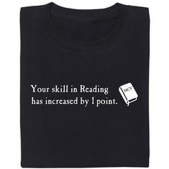 Your skill in Reading T-Shirt